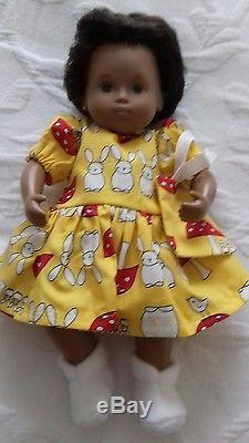 VINTAGE TRENDON SASHA BABY girl doll 1970s. Painted lips. Reduced