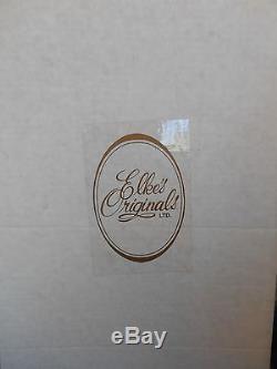 VINTAGE but NEW Ltd Edition Porcelain Doll KRICKET by Elke Hutchens NIB withcert