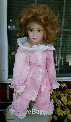 Very Large Vintage Porcelain Doll