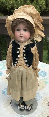 Vintage 15 German Porcelain Doll Numbered All Original