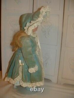 Vintage 16 Cabinet Shelf Bru Doll 1974 By Marianne DeNunez Reproduction