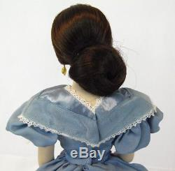Vintage 18 Franklin Mint Havilland Melanie Gone with Wind Porcelain Doll with COA