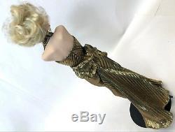 Vintage 18 Gold Blondes Franklin Mint Heirloom Estate Marilyn Monroe Doll