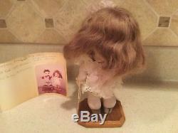 Vintage 1971 Porcelain L'il Sunny 7 Doll NIADA With Paperwork Girl Big Eyes