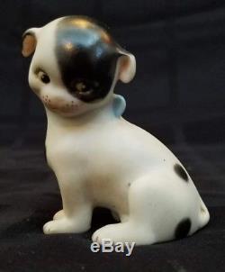 Vintage 1976 Porcelain Rose O'Neill Kewpie Doodle Dog