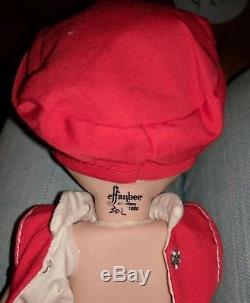 Vintage 1980's Effanbee PORCELAIN PATSY Dolls lot 302/1000 900/1000