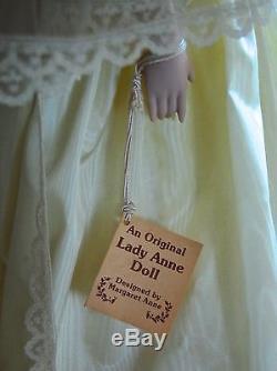 Vintage 1981 Original Lady Anne Princess Diana Wedding Porcelain 20 Doll EUC