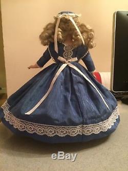 Vintage 1987 Lady Anne Porcelain Doll #0061 Made By Margaret Anne. Hand Signed