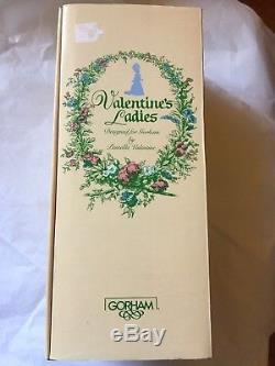Vintage 1988 Gorham Valentine's Ladies Maria Theresa Doll Limited #254 Nrfb