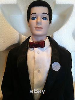 Vintage 1991 30th Anniversary Ken Porcelain Doll (mib) Barbie Ken Doll