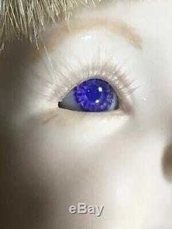 Vintage 1993 Expressions Jenny II 2 Dianna Effner 20 Porcelain Doll Purple Eyes