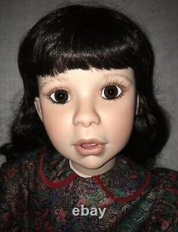 Vintage 1994 Virginia Turner Little Red Riding Hood Porcelain Doll LE #72/150
