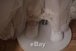 Vintage 42 Rustie Cassandra Porcelain Doll White pink Victorian LIMITED 500