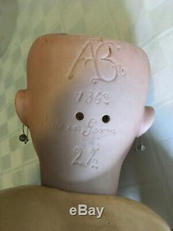 Vintage ABG / Alt Beck Gottschalk Bisque & Composition Porcelain Doll