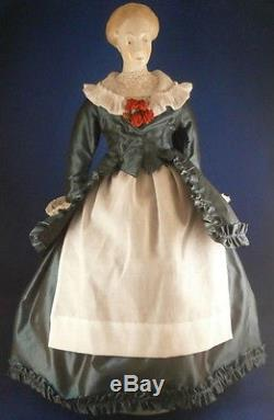 Vintage Amazing Nymphenburg Porcelain China Head Porcelain Doll Figurine Figure