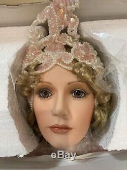 Vintage Angelique Porcelain Doll By Rustie 1999
