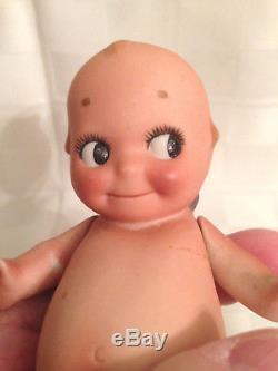 Vintage/ Antique 5 3/4 Porcelain/ Bisque Kewpie Rose Oneill Marked O'neill