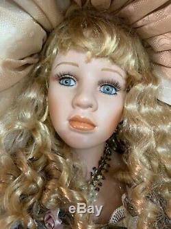 Vintage Ashley Belle Porcelain Girl Doll 42 #58