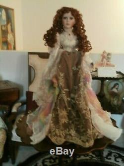 Vintage Ashley Belle Victorian Style Doll Large 29 Inch New Bisgue Porcelain