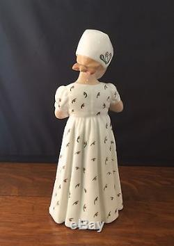 Vintage B&G Bing Grondahl MARY Girl with Doll 1721 Porcelain Denmark Figurine