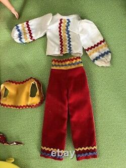 Vintage Barbie Sears Exclusive #1249 Living Fluff Sunshine Gift Set Complete
