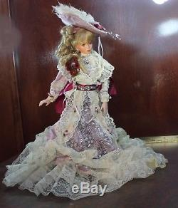 Vintage CATHERINE ANNE By Rustie 20 Porcelain Doll #395 of 2000 World Wide