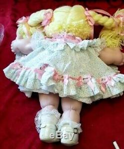 Vintage Cabbage Patch Limited Edition Pamela Diane Porcelain Doll 16 Signed