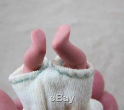 Vintage Cathy Hansen Bisque Porcelain Baby Doll