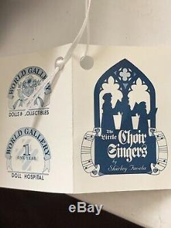 Vintage Christmas The Little Choir Singers Dolls Religious Porcelain Dolls
