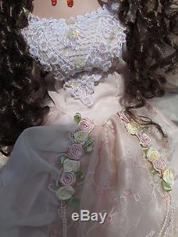 Vintage Collectible Miss Mercia Large, Large Porcelain Doll 49