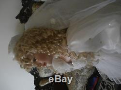 Vintage Collectors Item Heirloom Doll 4 Feet High Rare Bride