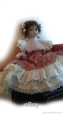 Vintage Dianna Effner porcelain doll Emily rare