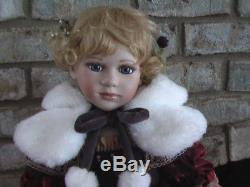Vintage Doll Gwendolyn Dalton Product Corp. Porcelain 30 Inches of Loveliness