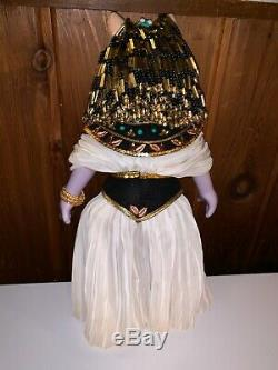 Vintage ENESCO Miss Piggy Cleopigtra Cleopatra Porcelain Doll from 1983 RARE