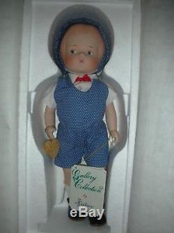 Vintage Effanbee Patsy Brother Porcelain Boy Doll Low 25 Number 14 1994 MIB