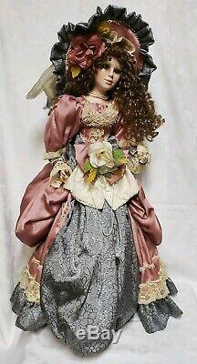 Vintage Emerald Doll Collection Victorian Porcelain Doll 28