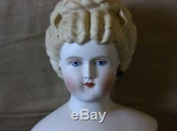 Vintage Emma Clear doll Parian Bisque head doll 21