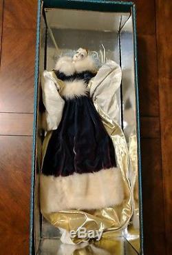 Vintage Erte Eloquence Art Deco 20 Porcelain Doll Shader's China Doll
