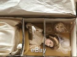 Vintage Franklin Heirloom Mint The Gibson Girl Bride Doll 22 Porcelain Doll