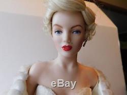 Vintage Franklin Mint Heirloom Dolls 19 Marilyn Monroe Porcelain Doll NEW