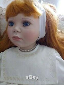 Vintage French 32 Lydia Doll By Christine Orange # 296