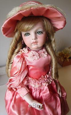 Vintage French BRU BeBe Doll Glass Eyes! Lovely