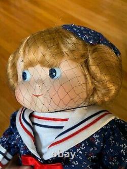 Vintage Global Art DOLLY DINGLE DOLLS Googly Eye Sailor Girl #901180 NIB