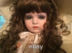 Vintage Gorgeous Bruj NE 13 Porcelain Victorian Doll 30