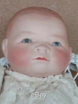 Vintage Grace Putnam German Bye Lo bisque porcelain baby doll antique 15