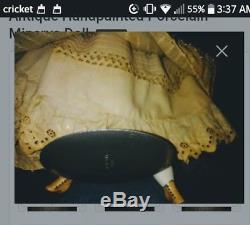 Vintage Handpainted Minerva Porcelain Geisha Doll Estate Find