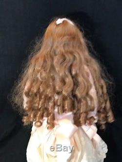 Vintage Janet Ness Porcelain Doll-Julieanna Limited Edition #4 Of 25 24 Tall