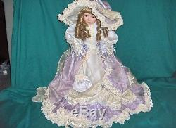 Vintage Janis Berard Porcelain Doll American Artists Collection Kais Veronica