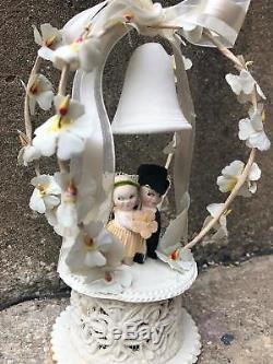 Vintage Kewpie Dolls or Rose O'Neil Wedding Cake Topper Antique