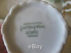 Vintage Kewpie Rose O'Neill Children's Tea Set Doll Tea Set Made in Germany 7PC